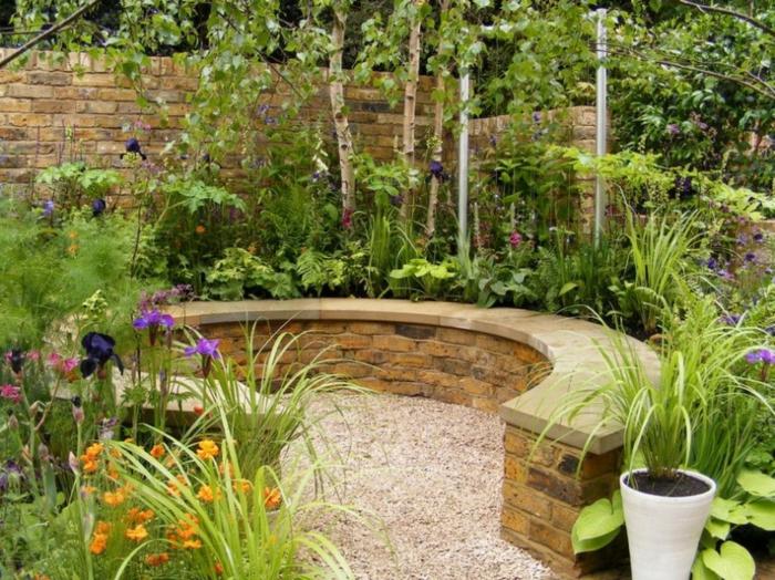 moderne-schöne-gartengestaltungsideen-kleine-gärten-gestalten