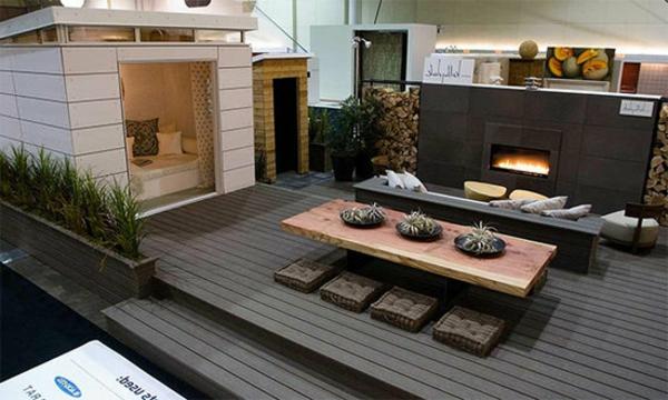 kaminofen für terrasse