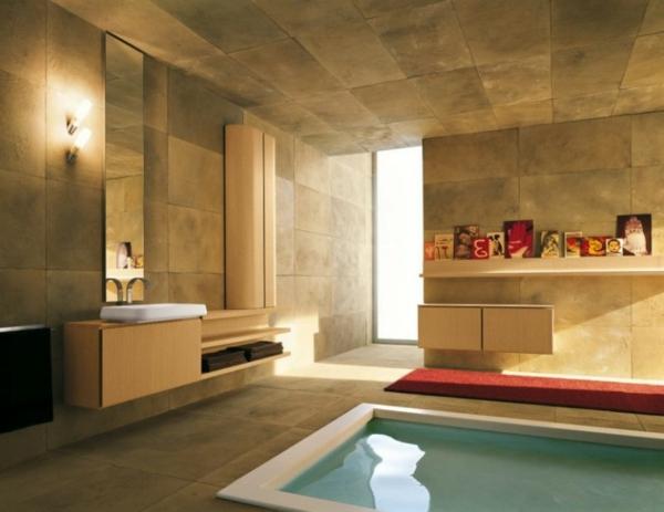 modernes bad bunt ~ verschiedenes interessantes design für ein ... - Modernes Bad Bunt