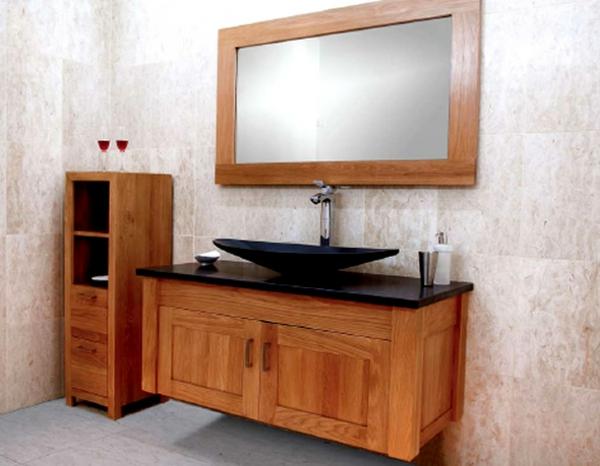 Badschränke Holz moderner badschrank 30 interessante bilder archzine