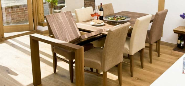 Esszimmer Mit Ausziehbarem Tisch