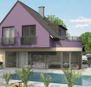 Modernes Einfamilienhaus - super inspirierende Bilder!