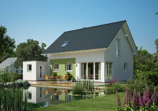 Modernes einfamilienhaus super inspirierende bilder for Modernes haus ohne dach