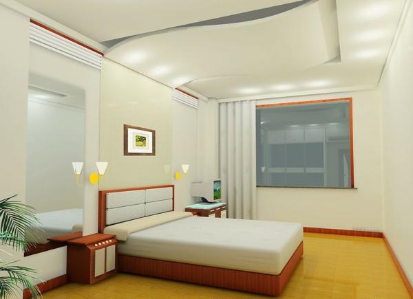 deckenleuchten und wandleuchten für ein modernes schlafzimmer