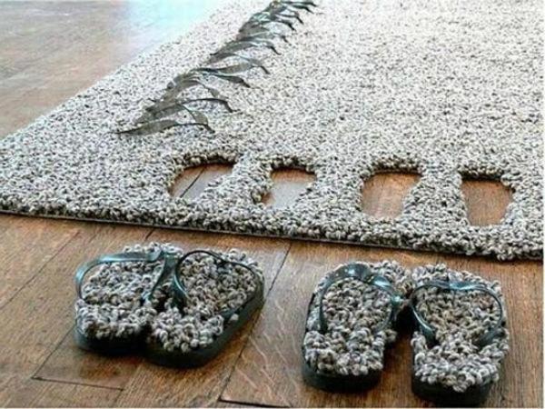 modernes-teppich- graue farbe