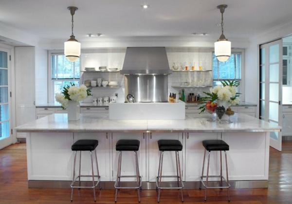 neue-küche-gestalten- weiße gestaltung