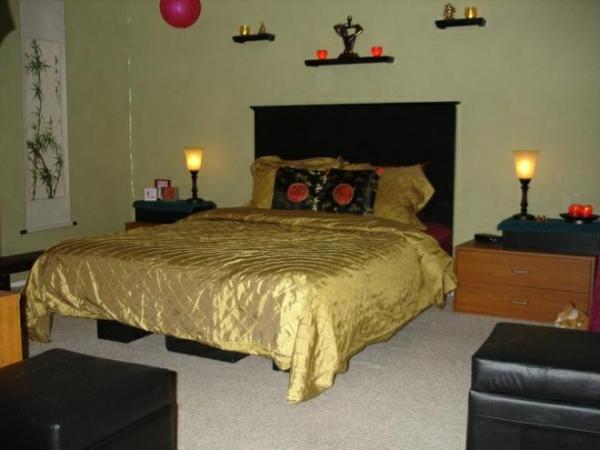 Orientalisches Schlafzimmer - zauberhafte Atmosphäre schaffen ...