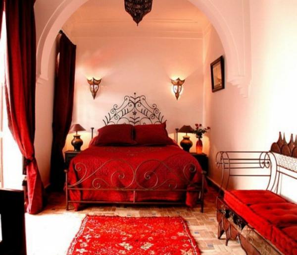 Schlafzimmer In Rot Gestaltet Emejing Schlafzimmer Einrichten Rot ...