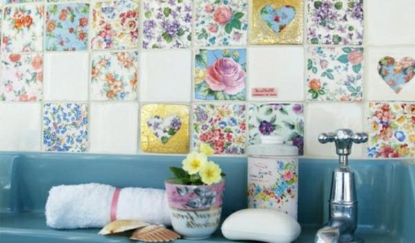 patchwork-platten-im-badzimmer- bunte farben