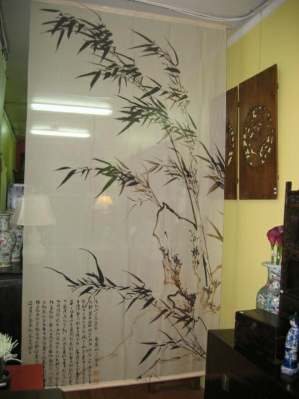 raumteiler-dekoration - vorhang