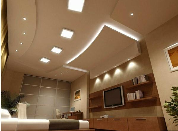 Wohnzimmer Modern Lampen Beleuchtung Dumss