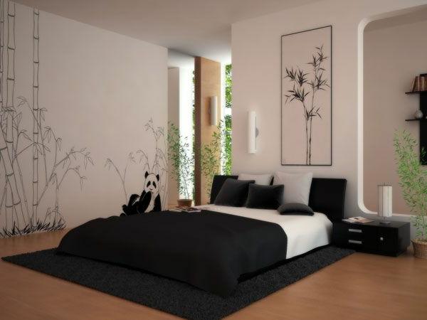 Moderne Raumgestaltung - 30 Interessante Vorschläge - Archzine.net Schlafzimmer Asiatisch