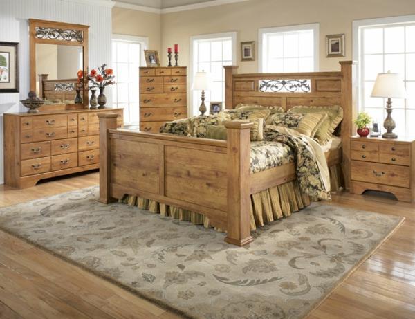 Schlafzimmer Landhausstil Ideen | schlafzimmer im landhaussil holz