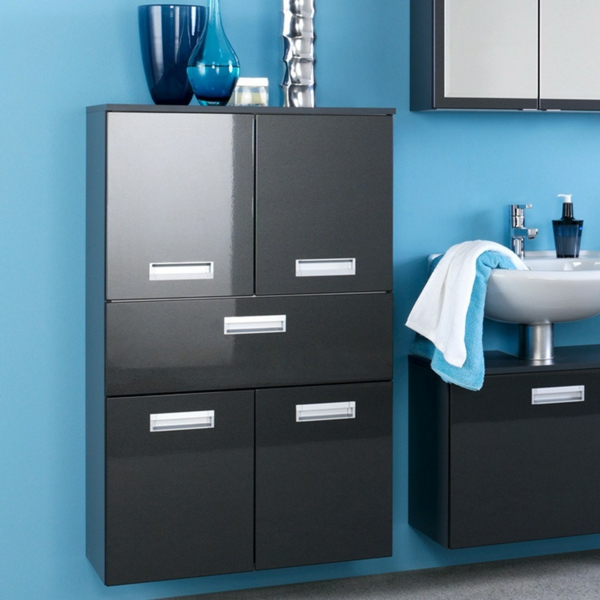 moderner badschrank 30 interessante bilder. Black Bedroom Furniture Sets. Home Design Ideas