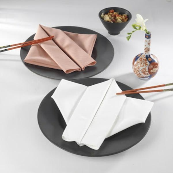 japanischer  stil - servietten falten