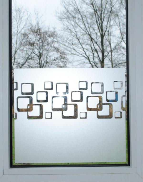 Dekoration Fur Kleine Fenster : Sichtschutzfolie für Fenster – 23 praktische Vorschläge