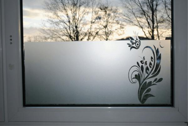 Dekoration Fur Große Fenster : Sichtschutzfolie für Fenster – 23 praktische Vorschläge