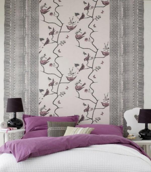 Tapeten Schlafzimmer Blumen : Wenn man das Thema Tapeten im Schlafzimmer behandelt, soll man nicht