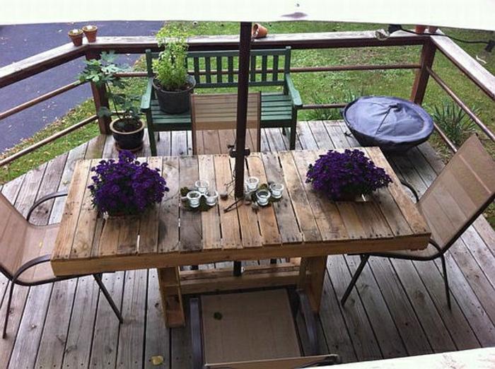 ▷ möbel aus paletten - 95 sehr interessante beispiele!, Garten Ideen