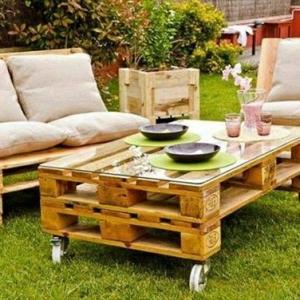 Möbel aus Paletten - 95 sehr interessante Beispiele!