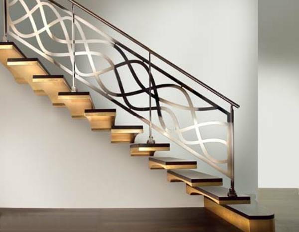 freischwebende treppen mit wunderbaren design