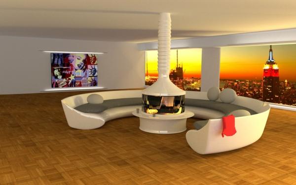 Charmant Excellent Und With Luxus Wohnung Mit Kaminofen