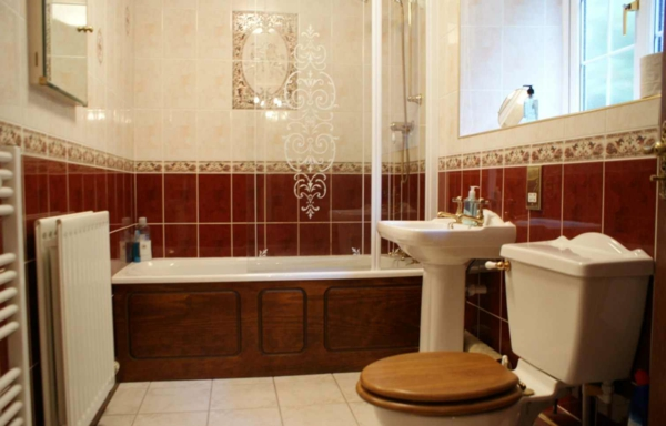 vintage-badezimmer-fliesen- badewanne