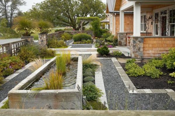 Vorgarten gestalten 23 praktische ideen - Vorgartengestaltung bilder ...
