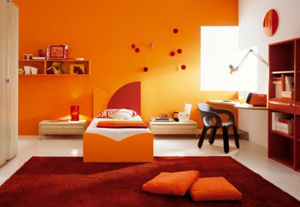 Kinderzimmer Rot Orange – Quartru.com
