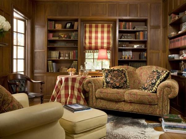 warme-wandfarben-fürs-wohnzimmer-ockra- gemütliche atmosphäre