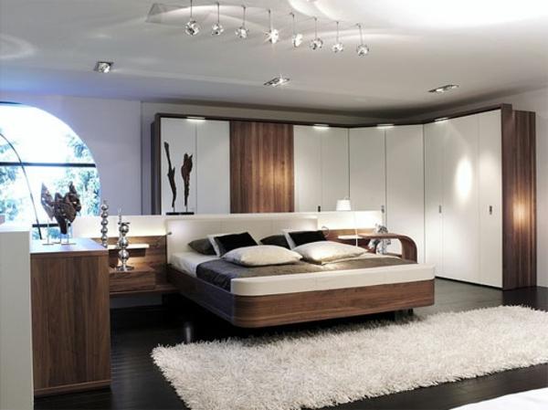 Moderne Schlafzimmer Braun : Originelle schlafzimmergestaltung ideen archzine