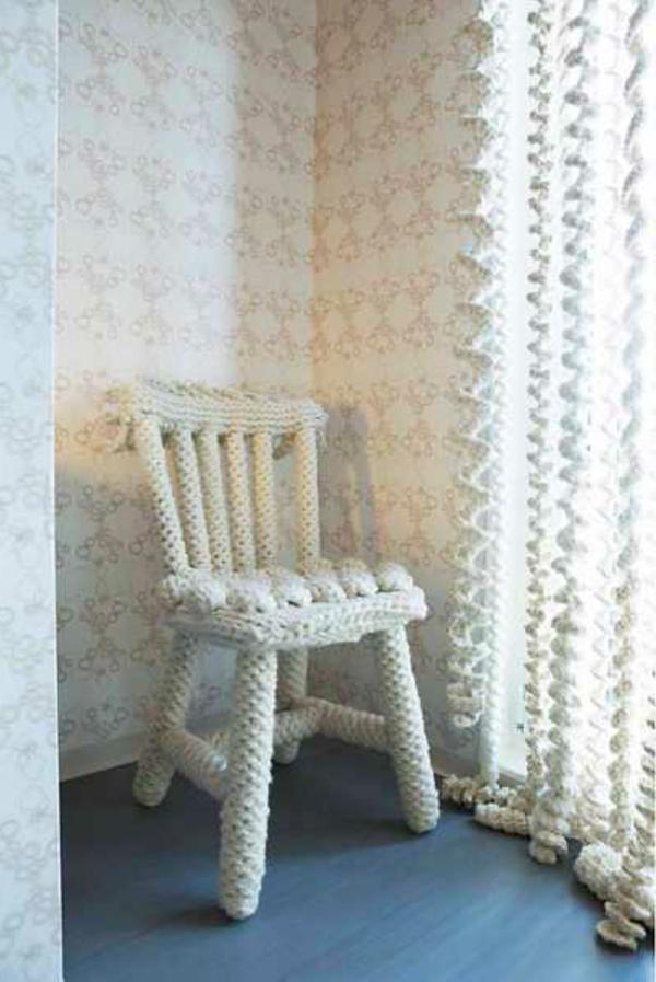 weiße-gardinen-extravagant- zimmer tapete