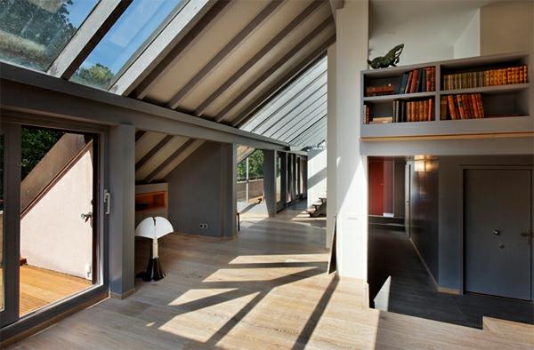 dachwohnung einrichten 30 ideen zum inspirieren On dachwohnung modern