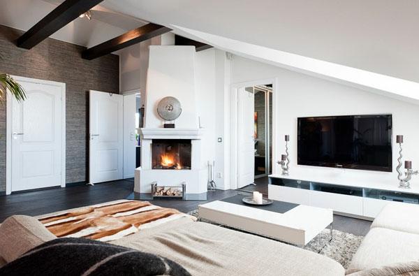 wohnzimmer-weiße-gestaltung-dachwohnung