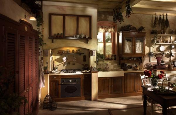 wunderschöne-küche-im-landhausstil- gestalten