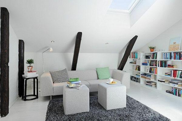 Wir hoffen, Sie mit unseren 30 Dachwohnung einrichten Ideen inspiriert ...