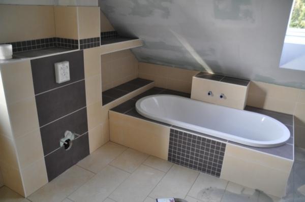 Badezimmer Fliesen Beige Grau ? Bitmoon.info Badezimmer Ideen Beige Grau