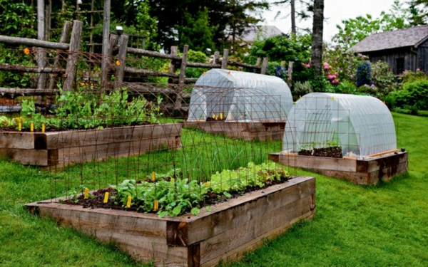 hochbeet ideen garten minimalist – infobury, Garten und Bauten