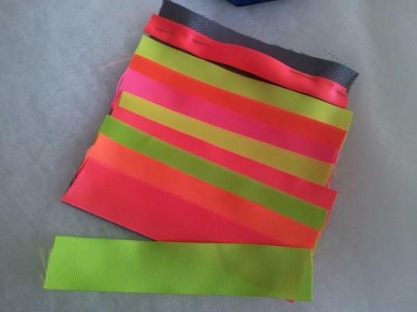klatsch handtasche- grelle farben - bunt