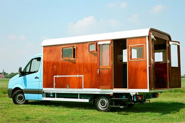 Wohnwagen-preiswerte-minihäuser - schöne karawane