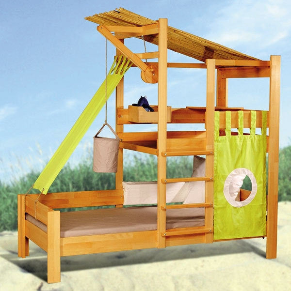 Abenteuerbett selber bauen  Abenteuerbetten fürs Kinderzimmer -25 atemberaubende Bilder ...