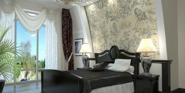 Schlafzimmerwand gestalten - 40 wunderschöne Vorschläge ...