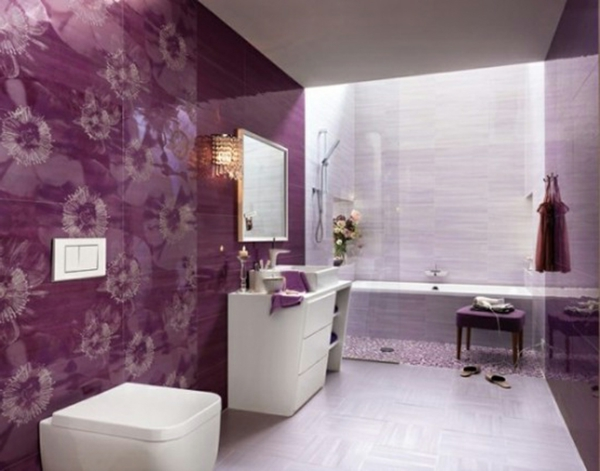 57 wunderschöne ideen für badezimmer dekoration - archzine, Badezimmer