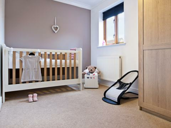 babyzimmer wandfarbe taupe sehr originell - Taupe Wandfarbe