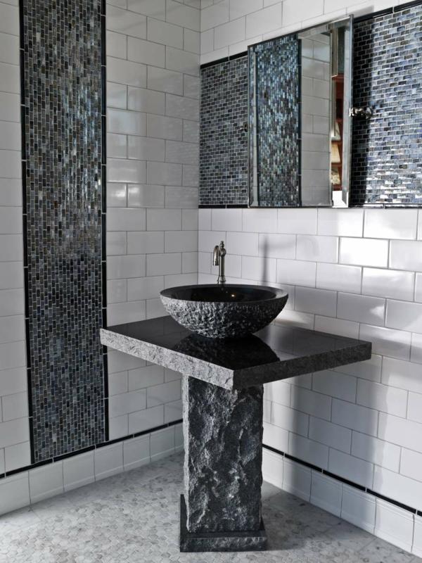 Badezimmer Mosaik Modern