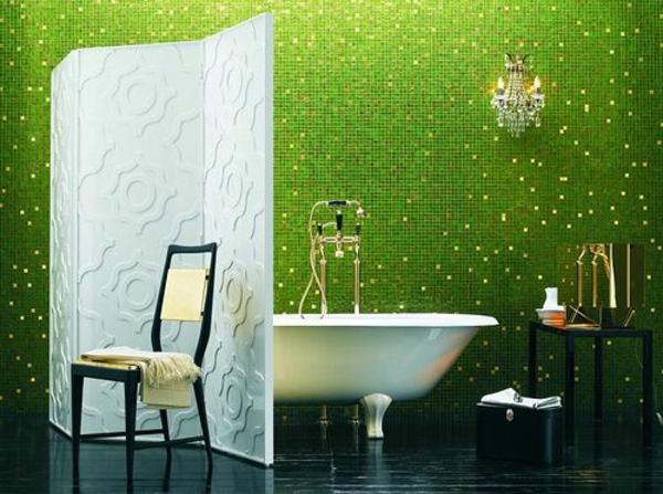 bad mit mosaikfliesen 34 interessante ideen. Black Bedroom Furniture Sets. Home Design Ideas