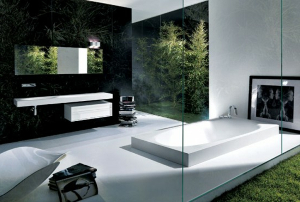 57 wundersch ne ideen f r badezimmer dekoration. Black Bedroom Furniture Sets. Home Design Ideas