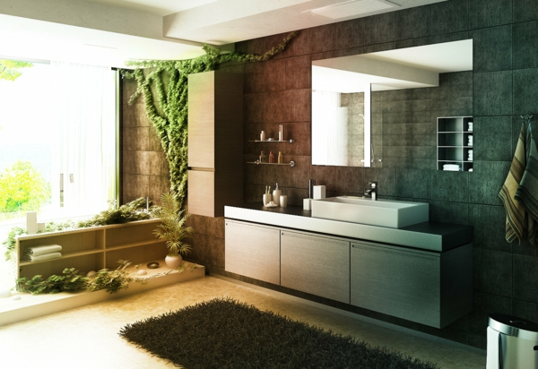 57 wunderschne ideen fr badezimmer dekoration - Moderne Deko Badezimmer