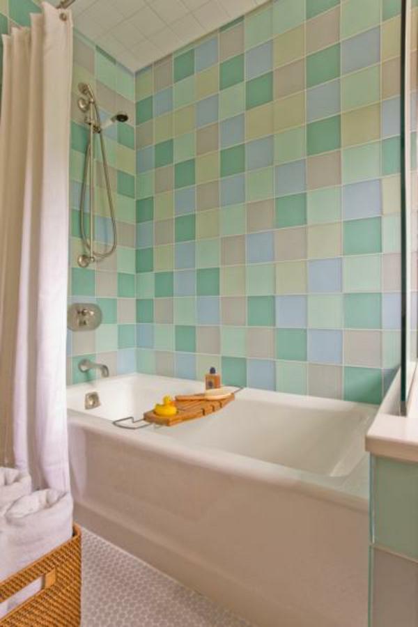 Hervorragend Badezimmer Trends Badfliesen   Türkis Taupe Farbe