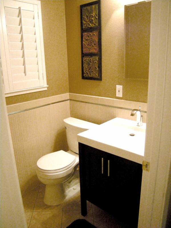 badezimmer-vorschläge -beige farbe